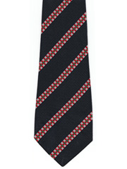 Kings Own Scottish Borderers Striped Tie, KOSB