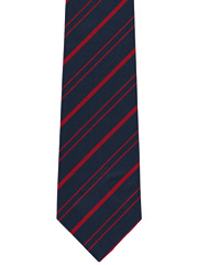 Royal Military Police striped tie