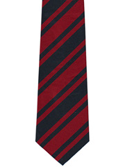 Royal Engineers striped tie