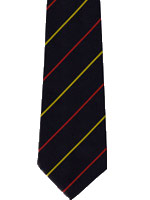 RAMC Medical Corps striped tie