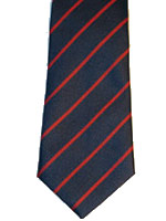 Royal Army Ordnance Corps striped tie