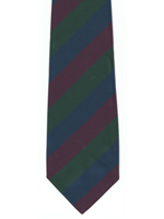 Royal Regiment of Scotland striped tie