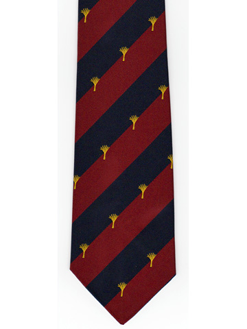 Welsh Guards Logo Tie