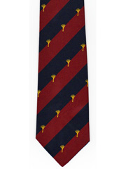 Welsh Guards Logo Tie Image 2