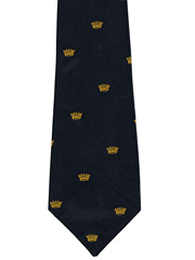 Royal Navy Chatham Logo Tie