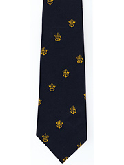 Merchant Navy logo tie Crown and Anchor