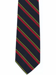 Royal Marines striped tie