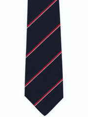 Royal Navy striped tie