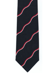 Royal Navy Volunteer Reserve Striped Tie