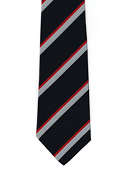 Royal Naval Air Service striped tie