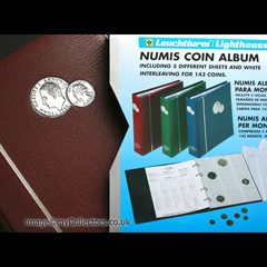Numis Coin Album - Red
