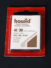 41 by 30mm Hawid Cut to Size stamp mounts