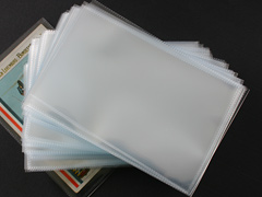 Plastic Postcard Sleeves