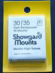 Showgard 30mm by 35mm Mounts