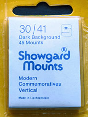30mm by 41mm Showgard Mounts
