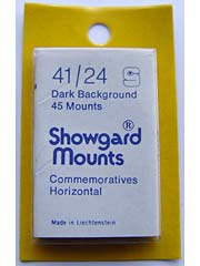 Showgard 41mm by 24mm Cut Mounts