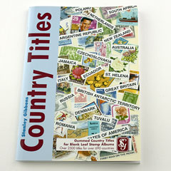 Country Gummed Titles by Stanley Gibbons Image 2