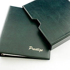 Prestige loose Leaf Stamp Album