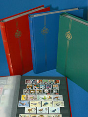 Selection of Compass Stockbooks for Stamps