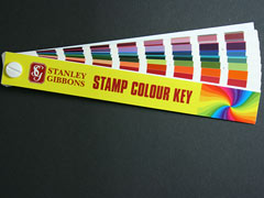 Stamp Colour Key from Stanley Gibbons