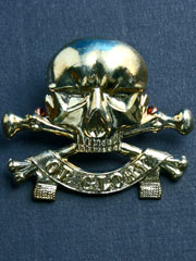 17th-21st Lancers Cap Badge