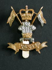 9th 12th Royal Lancers Cap Badge