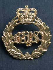 2nd Dragoon Guards (Queen's Bays) Cap Badge