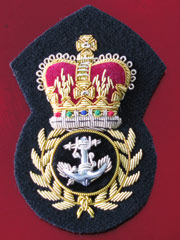 Royal Navy Chief Petty Officers Cap Badge Qc Products On