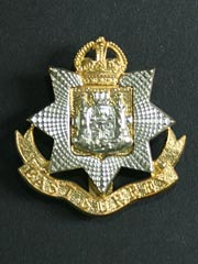 East Surrey Regiment GVIR Cap Badge