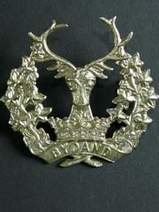 Gordon Highlanders Cap Badge