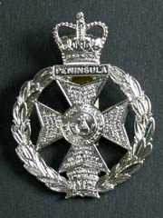 Royal Green Jackets QC Cap Badge