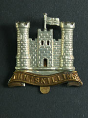6th Inniskilling Dragoons Cap Badge