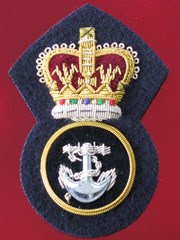 Petty Officer Cap Badge QC
