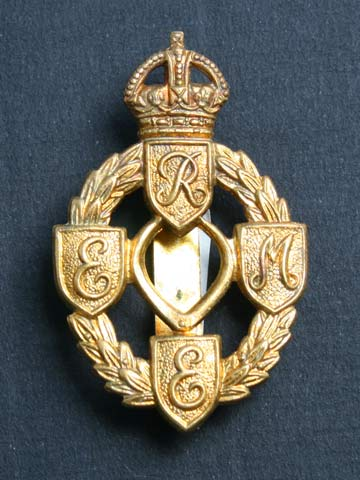 Product   REME (KC) Cap Badge   from the myCollectors Website 0f21c077b6ec