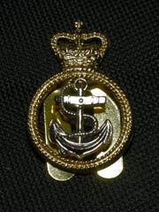 RN Petty Officers Beret Badge
