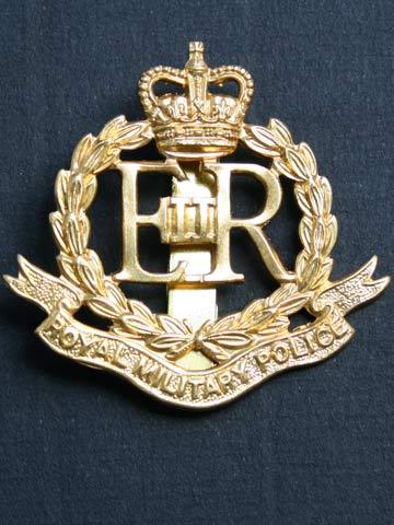 BRITISH ARMY ROYAL MILITARY POLICE BADGE