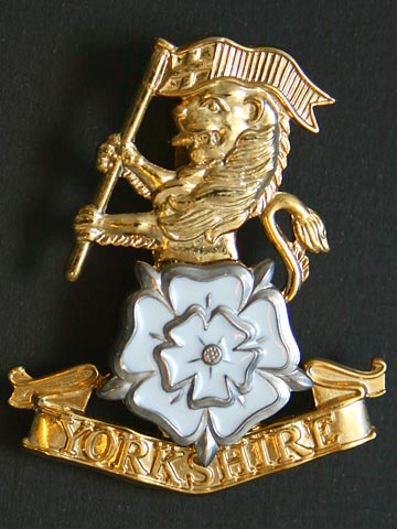 Product Yorkshire Regiment Enamelled Cap Badge From