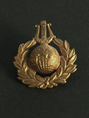 Royal Marines Musicians Cap Badge