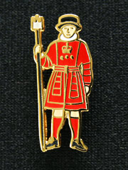 Beefeater London Lapel Badge