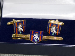 REME boxed cufflink and tie bar