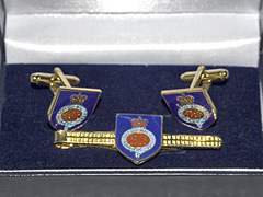 Grenadier Guards boxed cufflink and tie bar