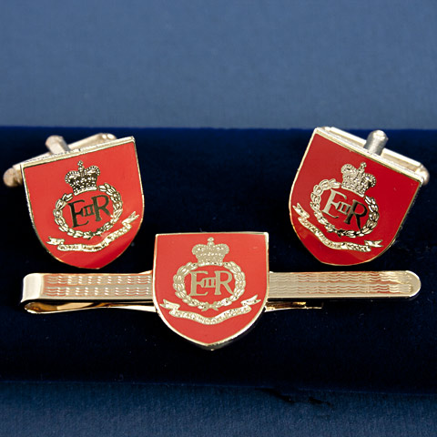 Royal Military Police Cufflink and Tiepin Set
