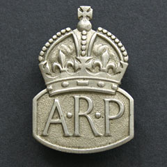 ARP - Air Raid Precautions Badge