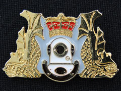 Divers Lapel Badge