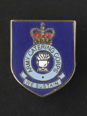 Army Catering Corps lapel badge