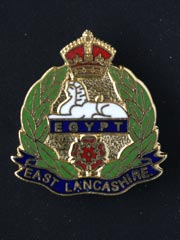 East Lancashire Regiment lapel badge