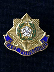 East Yorkshire Regiment Lapel Badge