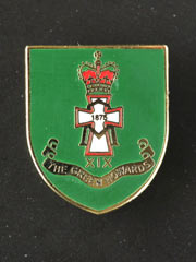 Green Howards lapel badge