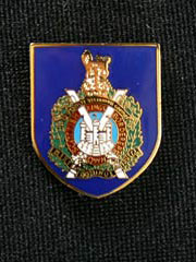 Kings Own Scottish Borderers Lapel Badge