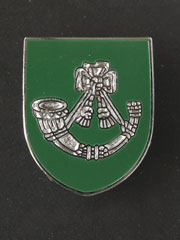 Light Infantry boxed lapel badge